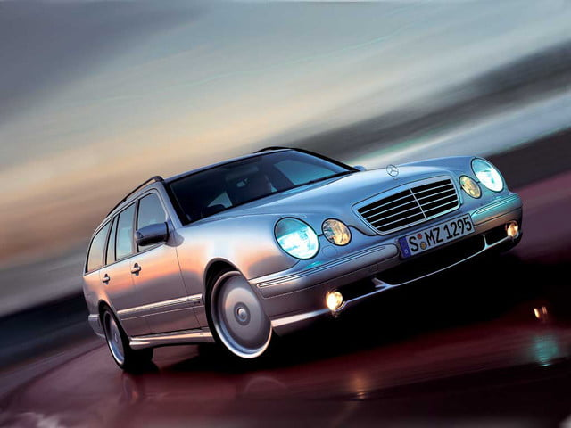 favorite station wagons from history 2001 mercedes benz e55 amg wagon