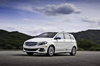 Mercedes B Class Electric >> Mercedes Benz B Class Electric Drive Discontinued News
