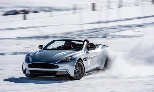 2016 Aston Martin On Ice First Drive Review Digital Trends