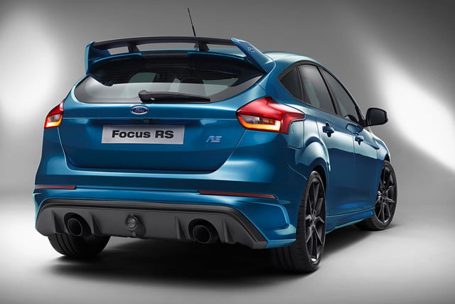2016 Ford Focus RS press rear