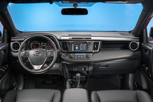 2016 toyota rav4 first drive se interior 4