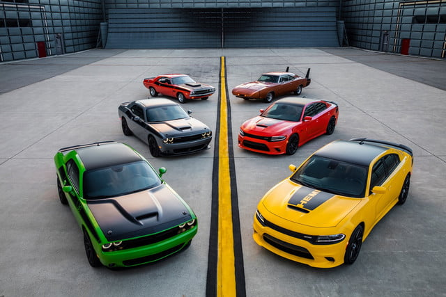 2017 Dodge Challenger T/A and 2017 Dodge Charger Daytona