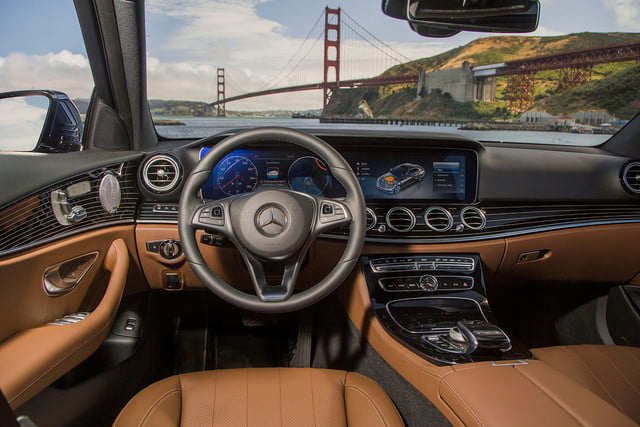 2017 mercedes benz e300 first drive e class interior 2