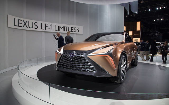 the lexus lf 1 limitless concept previews a new direction for flagship crossover 2018 detroit  3