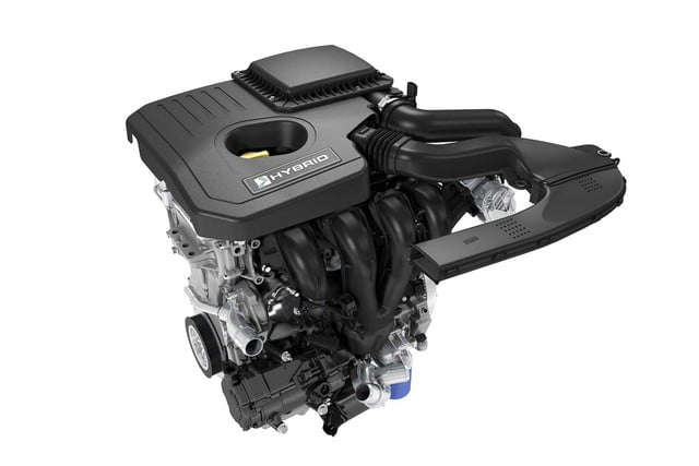 2018 Fusion Atkinson-cycle engine and electric motor