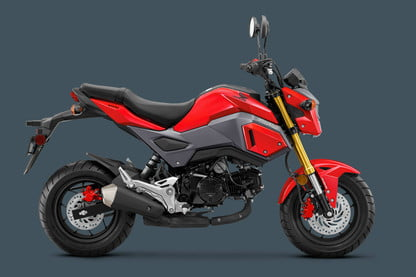 Honda Grom Review >> The 2018 Honda Grom Motorcycle Adds Abs As An Option
