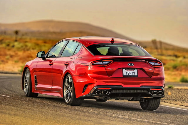 kia orth hedrick interview 2018 stinger red back angle