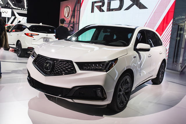 acura surprises with an mdx a spec at new york 2018  2019 5