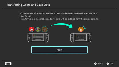 How to Transfer Data From One Nintendo Switch to Another