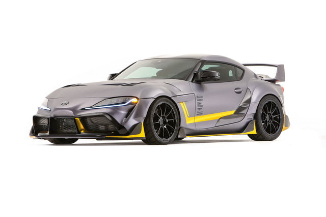toyota displaying eight supra based builds at sema 2019 grsupra 3000gt 01