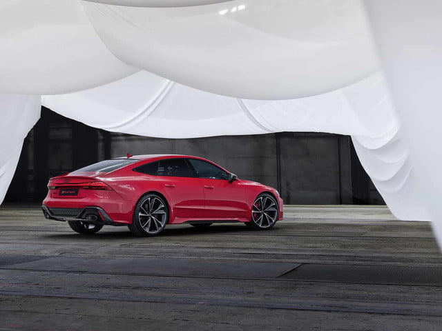 2020 audi rs 7 sportback packs 600 horsepower intuitive infotainment system 8