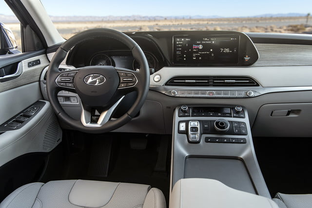 2020 hyundai palisade seats eight comes with useful tech 12