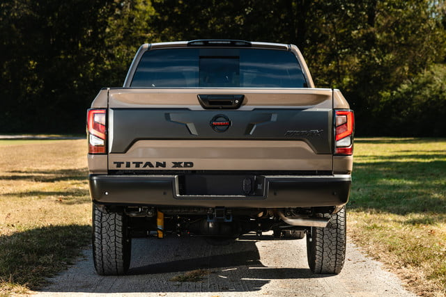 2020 nissan titan xd trim levels pricing and tech announced 5