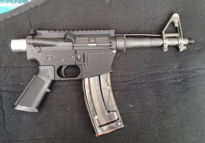 Functioning 3D-printed rifle you can make at home