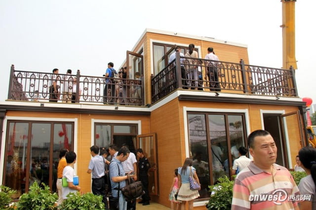 chinese company constructs 3d printed home in three hours 3dprinted4
