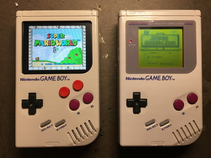 This Modified Game Boy Can Emulate All Kinds of Games