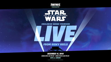 How To Watch Fortnites Exclusive Star Wars Scene Premiere