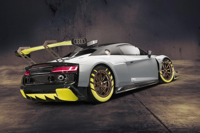 audi r8 lms gt2 race car 2019 goodwood festival of speed