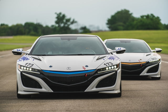 Acura NSX Time Attack Vehicles