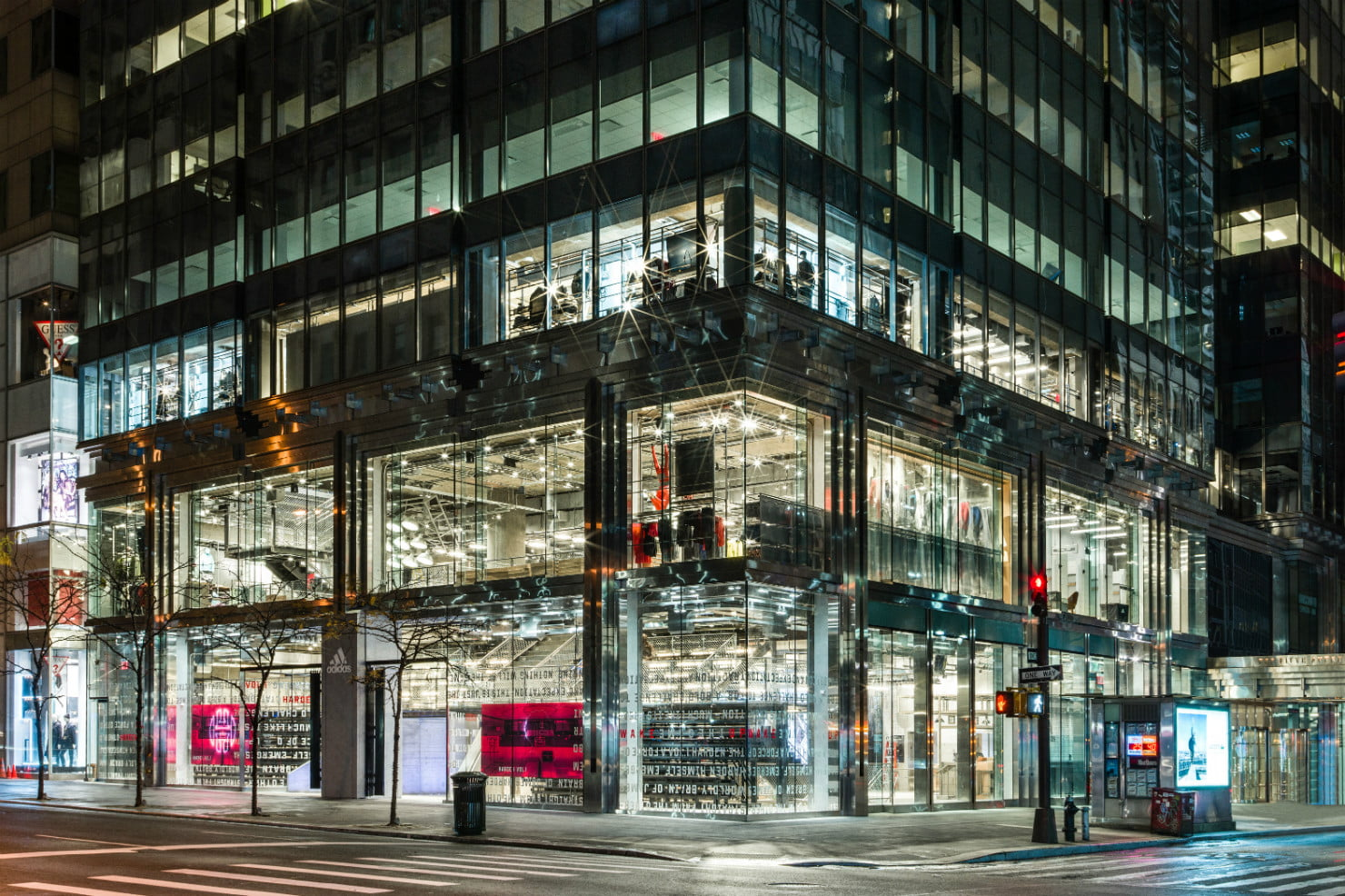 Why Adidas Built Its NYC Megastore on Fifth Avenue [PHOTOS