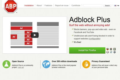 Using AdBlock Plus With Firefox May Slow Your Computer to a