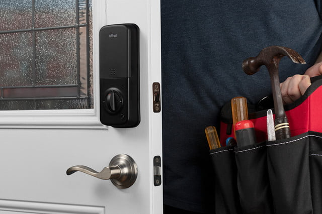Secure One-Touch Control with Alfred Smart Lock Deadbolt