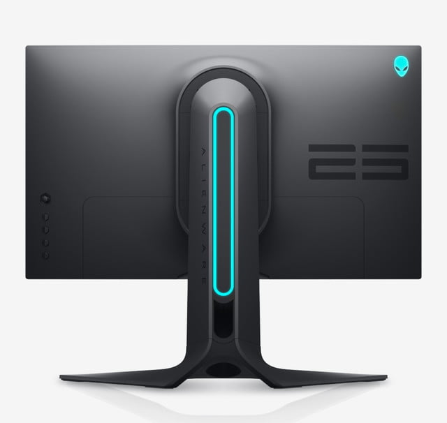 dell refreshes pc monitors ultrasharp ces 2020 alienware 25 gaming monitor back