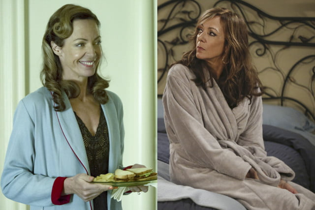 actors two shows same time allisonjanney