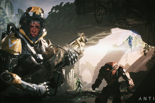 bioware ea anthem arrives february 2019 xbox playstation pc play e3 2018  8