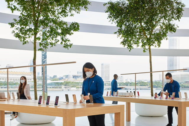 check out the stunning design of apples newest retail store apple  singapore 2