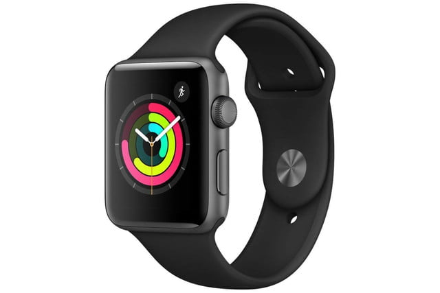 amazon 4th of july sale apple watch series 3  gps 42mm space gray aluminium case with black sport band 1