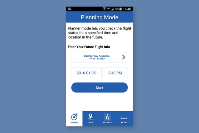 faa b4ufly drone operation b4uly app navigation planning