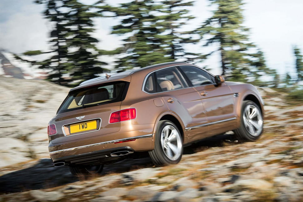 the top 10 best cars from frankfurt motor show bentley bentayga off road rear three quarter 1 970x647 c