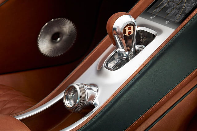 bentley exp 10 speed 6 concept official specs and pictures shifter press image