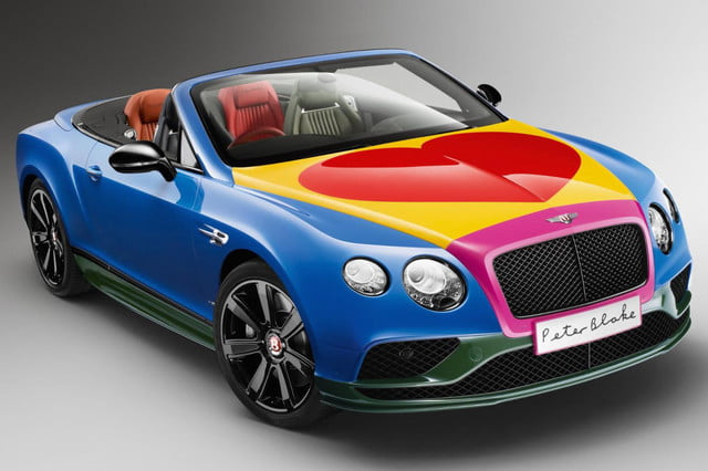 Bentley GT Art Car front angle