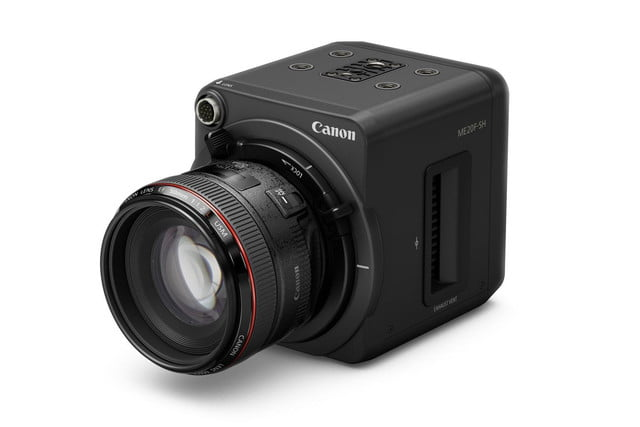 canons new video camera sees in the dark better than your eyes can canon me20f sh 2