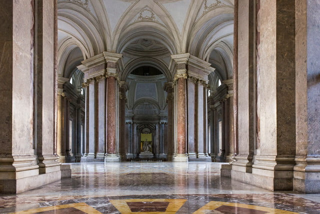 Palace of Caserta in Italy