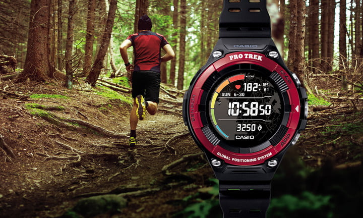 Casio's newest PRO TREK smartwatch finally adds heart rate monitoring