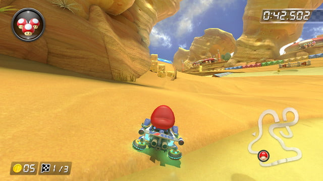 mario kart 8 shortcuts cheese land 3