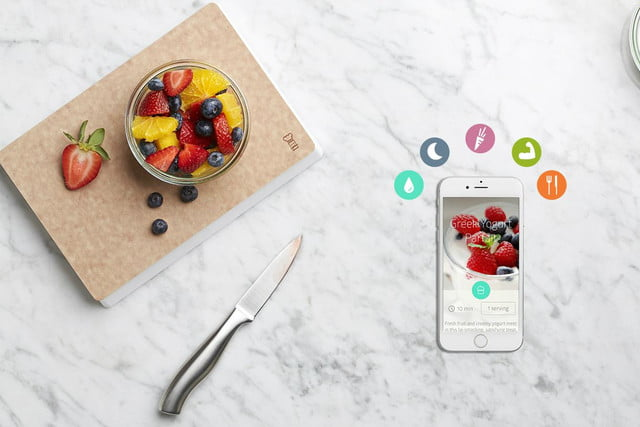the countertop kitchen scale makes other appliances smart with app