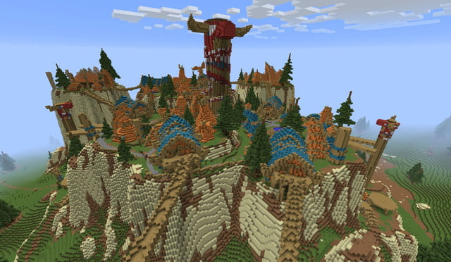 The Coolest Minecraft Creations and Maps | Digital Trends on best adventure maps, best garry's mod maps, best world at war maps, best battlefield maps, best call of duty maps, best zoo tycoon maps, best civ 5 maps, best skate 3 maps, best starcraft maps, best roblox maps, best company of heroes maps, best simcity maps, best clash of clans maps, best google maps, best journey maps, best survival maps, best halo maps, best star wars battlefront 2 maps, best counter strike maps, best unreal maps,
