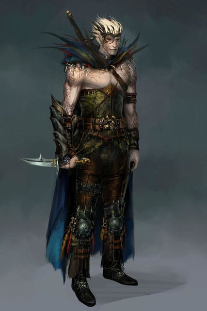 heres everything need know story leading dragon age inquisition dao concept art 1