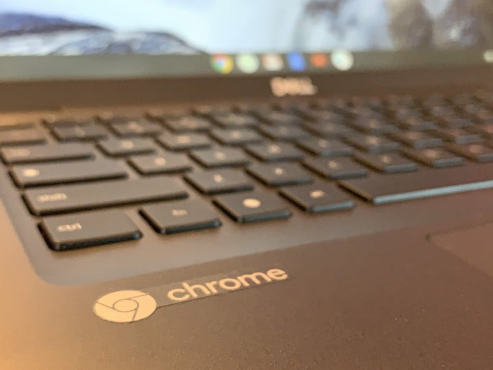 Dell Latitude 5400 5300 2en1 Chromebook Enterprise vmworld Chrome OS logo