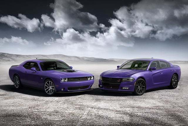 2016 Dodge Challenger and Charger