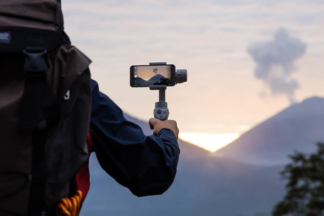 DJI Osmo Mobile 2 backpacking