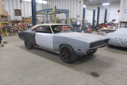 1969 Dodge Charger Hellcat Build Pictures Specs Video