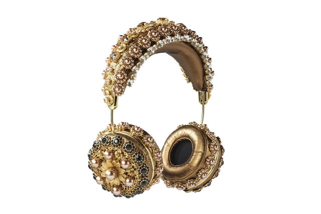 rihanna sells out 9000 dollar dolce gabanna headphones  embellished leather 2