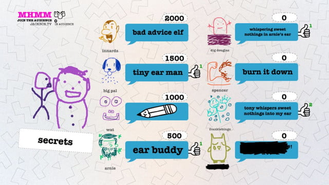 smartphone group games drawful score