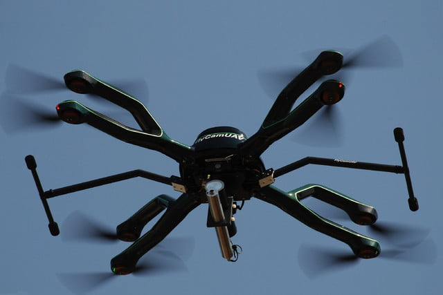 radiation and gas detecting drones drone5