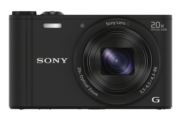 new sony cybershot cameras announced 2014 cp plus dsc wx350 black front 1200